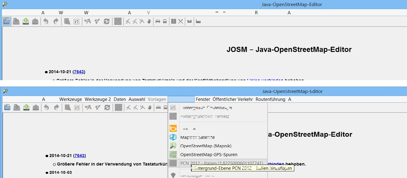 10800 (after update Java to version 8, Josm(Version 7643) make a lot