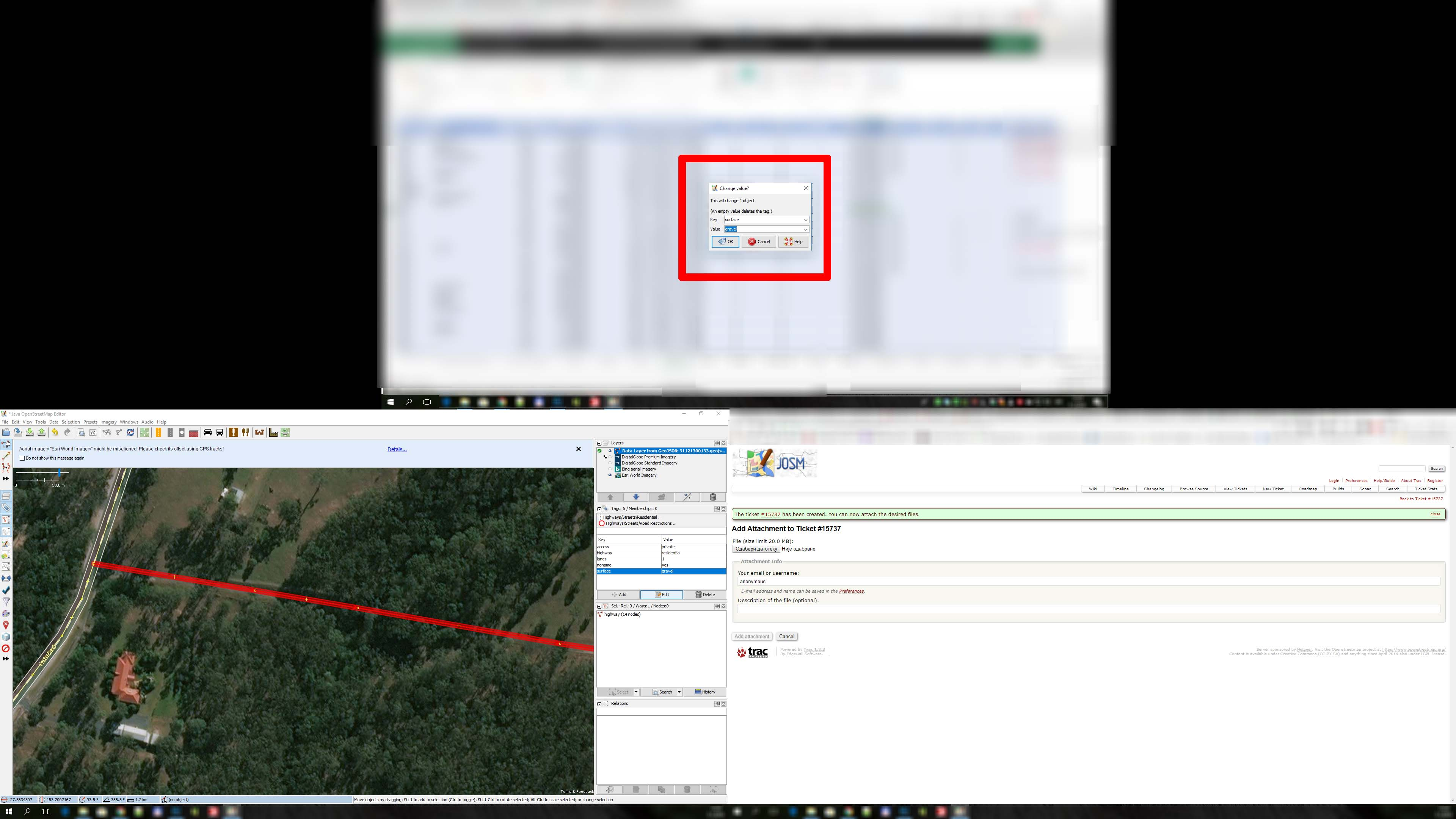 Tripple Monitor Issue