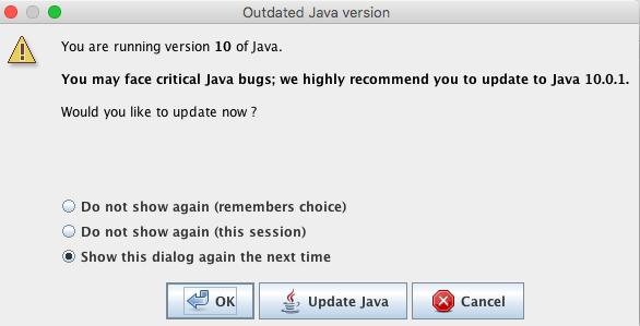 16305 (wrong old java warning on macOS) – JOSM