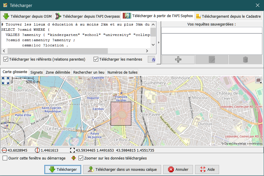 OPENSTREETMAP TÉLÉCHARGER TUILES