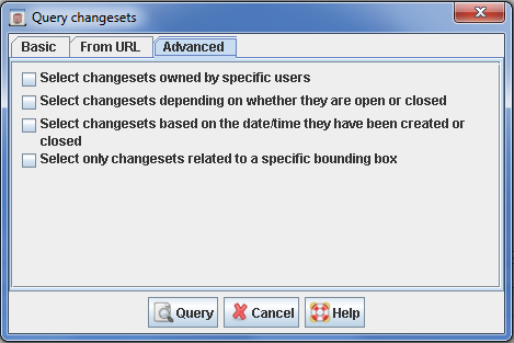 Help/Dialog/ChangesetQuery – JOSM
